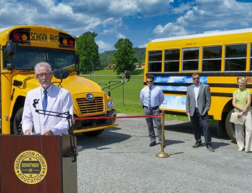 Washington County Cuts Ribbon on Five New Propane School Buses, Alternative Fuels Program