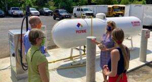 Talking propane infrastructure