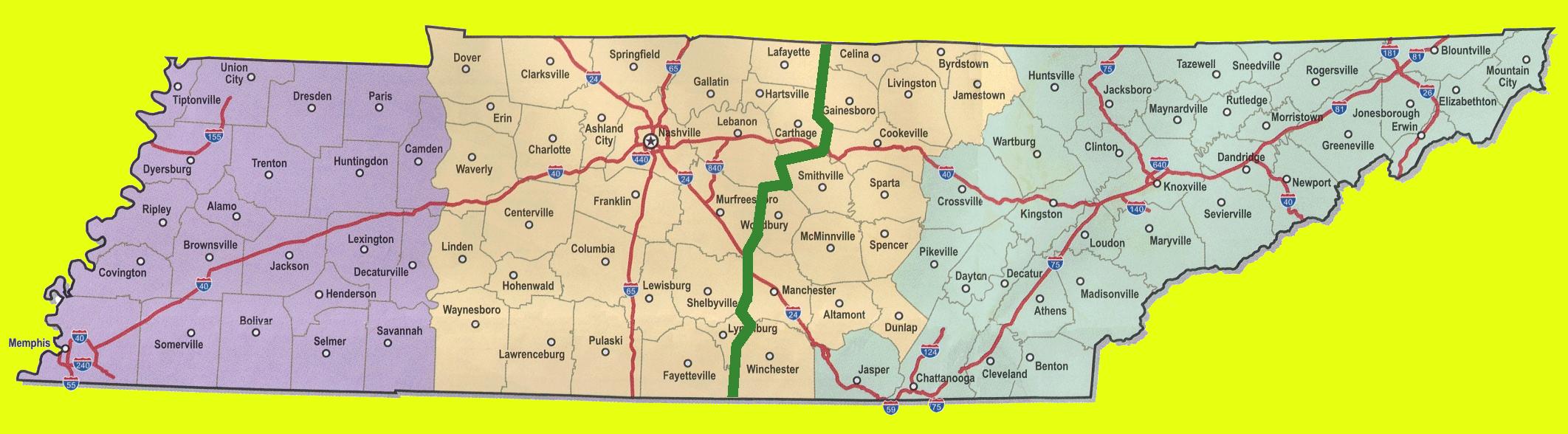 Coalition territories in TN