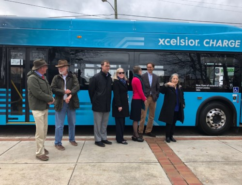 A Sneak Peek at Knoxville's First Electric Transit Bus