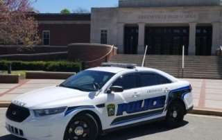 Greeneville Tennessee police Ford Taurus