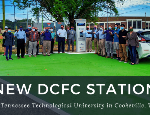 """Tennessee Tech unveils new DCFC Unit in Cookeville as part of """"EV Testbed"""" Project"""