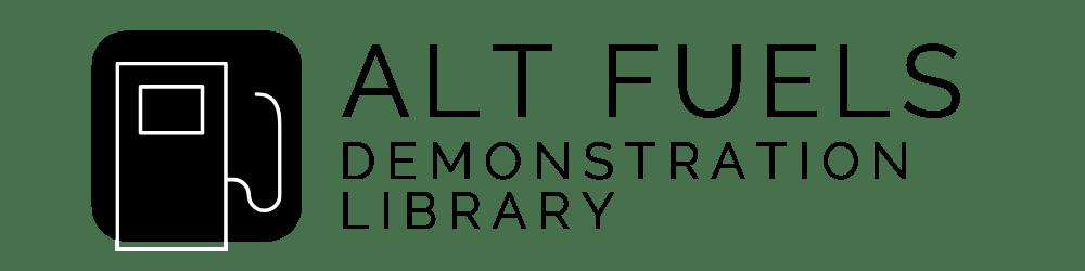 Alt Fuels Demonstration Library logo