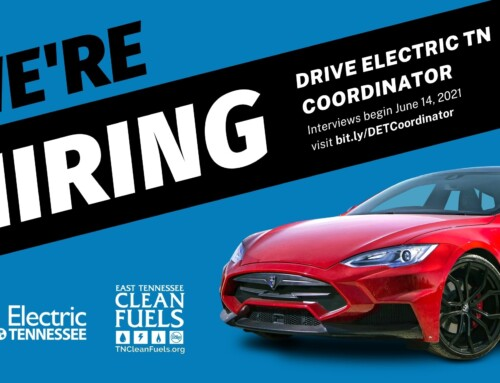 DriveElectricTN seeks Coordinator to manage statewide electrification initiative