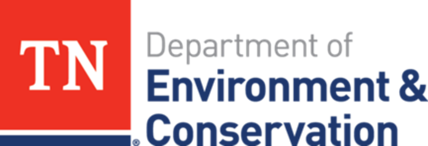 Tennessee Department of Environment & Conservation red and blue logo